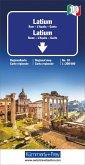 Kümmerly & Frey Karte Latium; Lazio