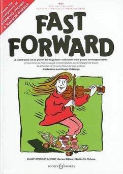 Fast Forward, für Violine u. Klavier, Klavierpartitur u. Einzelstimme