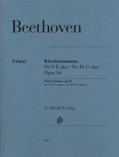 Klaviersonaten Nr. 9 E-dur op. 14,1 und Nr. 10 G-dur op. 14,2 - Beethoven, Ludwig van - Klaviersonaten Nr. 9 und Nr. 10 E-dur und G-dur op. 14 Nr. 1 und Nr. 2