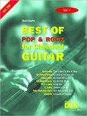 Best of Pop & Rock for Classical Guitar Vol. 1