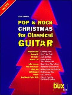 Pop & Rock Christmas for Classical Guitar - Scherler, Beat