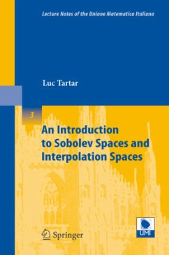 An Introduction to Sobolev Spaces and Interpolation Spaces - Tartar, Luc