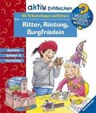 Ritter, Rüstung, Burgfräulein, m. 16 Bastelbogen und Schere