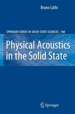 Physical Acoustics in the Solid State - Lüthi, Bruno
