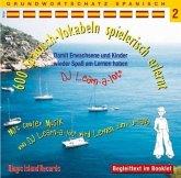 600 Spanisch-Vokabeln spielerisch erlernt, 1 Audio-CD