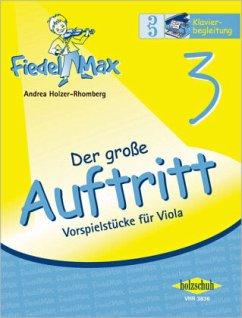 Der große Auftritt 3 - Vorspielstrecke Fiedel-Max - Holzer-Rhomberg, Andrea