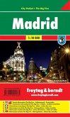 Freytag & Berndt Stadtplan Madrid; Madryt