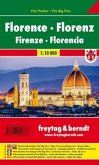 Freytag & Berndt Stadtplan Florenz; Florence; Firenze; Florencia; Florencie; Florencja
