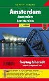 Freytag & Berndt Stadtplan Amsterdam; Amszterdam
