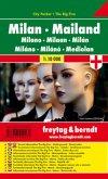 Freytag & Berndt Stadtplan Mailand. Milan. Milano; Milaan; Mediolan