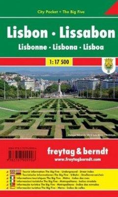 Freytag & Berndt Stadtplan Lissabon; Lisbon; Li...