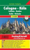 Freytag & Berndt Stadtplan Köln / Cologne / Colonia / Keulen / Kolin / Kolonia