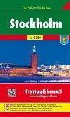 Freytag & Berndt Stadtplan Stockholm; Stoccolma; Estocolmo; Stokholm; Sztokholm