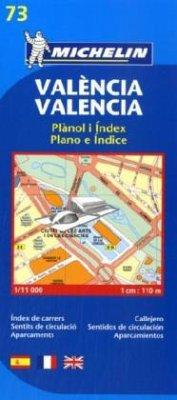 Michelin Karte Valencia