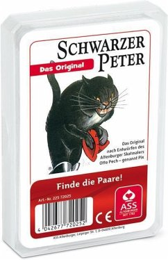 ASS Altenburger Spielkarten 72025 - Orinigal Schwarzer Peter