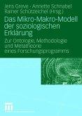 Das Mikro-Makro-Modell der soziologischen Erklärung