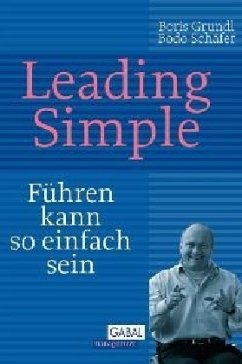Leading Simple - Grundl, Boris; Schäfer, Bodo