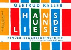 Hans und Liese für Blockflöte