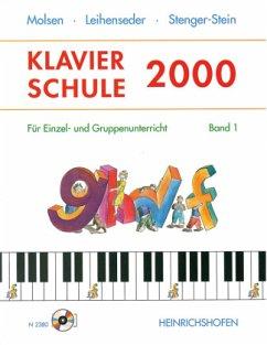 Klavierschule 2000, m. 2 Audio-CDs