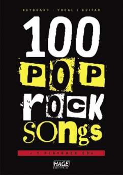 100 Pop und Rock Songs, m. 5 Audio-CDs
