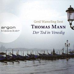 Der Tod in Venedig, 3 Audio-CDs - Mann, Thomas