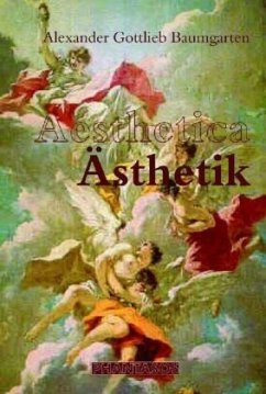 Aesthetica - Ästhetik - Baumgarten, Alexander G.