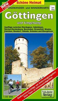 Doktor Barthel Karte Göttingen und Umgebung