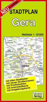 Doktor Barthel Stadtplan Gera
