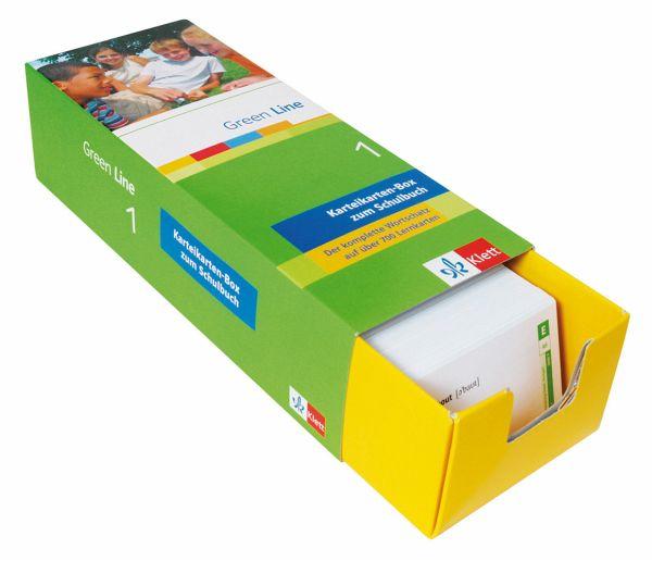 green line 1 vokabel lernbox schulb cher portofrei bei b. Black Bedroom Furniture Sets. Home Design Ideas
