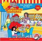 Das Spaghetti-Eis-Fest / Benjamin Blümchen Bd.106 (1 Audio-Cd)