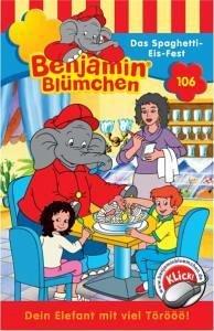 benjamin bl mchen 106 das spaghetti eis fest von elfie donnelly h rbuch. Black Bedroom Furniture Sets. Home Design Ideas