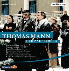 Der Zauberberg, 10 Audio-CDs - Mann, Thomas