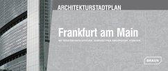 Architekturstadtplan Frankfurt