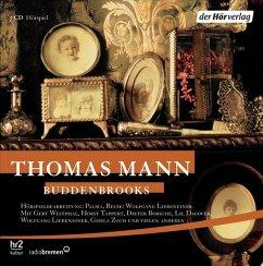 Buddenbrooks, 7 Audio-CDs - Mann, Thomas
