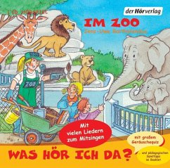 Was hör ich da?, Im Zoo, Audio-CD - Bartholomäus, Jens-Uwe