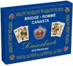 ASS Altenburger 22570070 - Kaiserkarte, Bridge, Rommé, Canasta, Edition