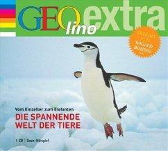Die spannende Welt der Tiere, 1 Audio-CD