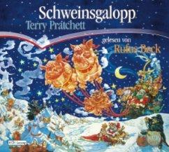 Schweinsgalopp / Scheibenwelt Bd.20 (6 Audio-CDs) - Pratchett, Terry