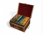 Harry Potter Hard Cover Boxed Set: Books #1-7 [With Stickers] - J. K., Rowling; Scholastic, Inc