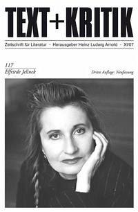 Elfriede Jelinek - Arnold, Heinz L (Hrsg.)
