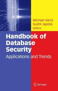 Handbook of Database Security - Gertz, M.; Jajodia, Sushil
