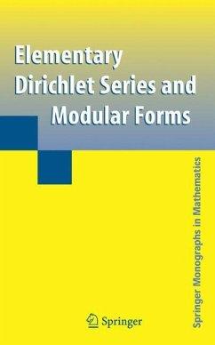Elementary Dirichlet Series and Modular Forms - Shimura, Goro