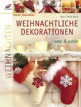 weihnachtliche dekorationen edel sch n von monika. Black Bedroom Furniture Sets. Home Design Ideas