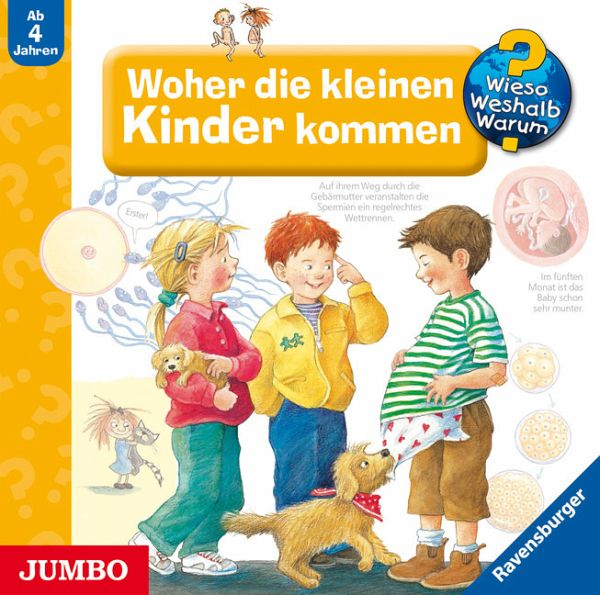 woher die kleinen kinder kommen audio cd h rb cher portofrei bei b. Black Bedroom Furniture Sets. Home Design Ideas