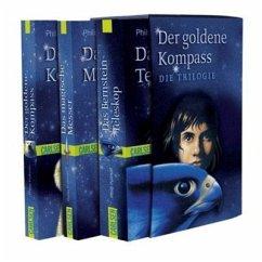 Der Goldene Kompass, Das Magische Messer, Das Bernstein-Teleskop / His dark materials Bd.1-3 - Pullman, Philip