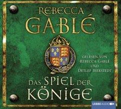 Das Spiel der Könige / Waringham Saga Bd.3 (18 Audio-CDs) - Gablé, Rebecca
