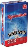 Jumbo 03817 - Original Rummikub Kompakt, Familienspiel, Metalldose