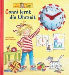 Conni lernt die Uhrzeit - Sörensen, Hanna; Steinhauer, Annette
