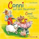 Conni auf dem Bauernhof / Conni und das neue Baby, 1 Audio-CD
