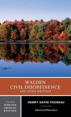 Walden, Civil Disobedience and Other Writings - Thoreau, Henry David